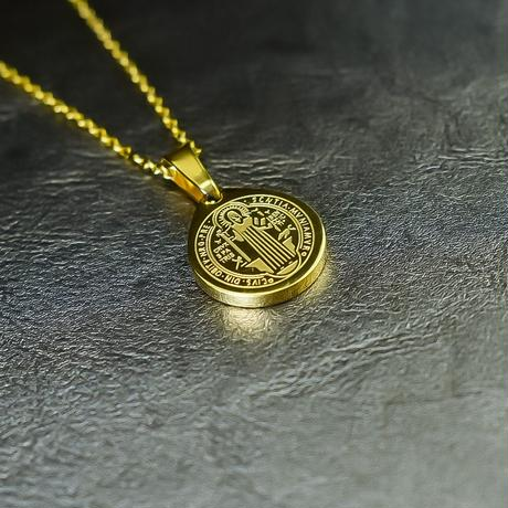 coin necklace stainless steel №22