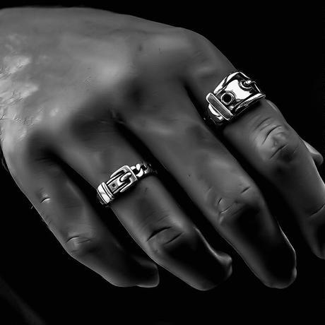 silver 925  belt ring №59