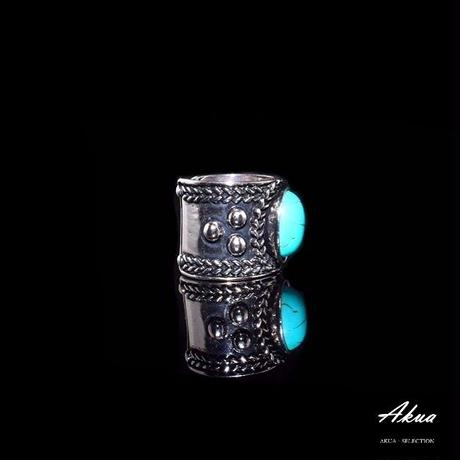 turquoise ring silver №112