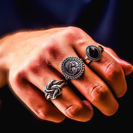 silver 925  design ring №60