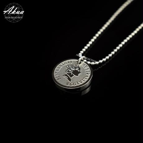Elizabeth necklace silver stainless steel №40