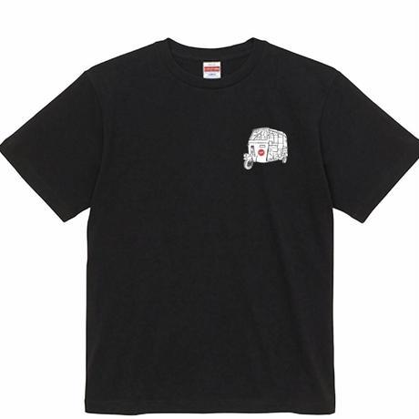 今日やばい奴に会った(ブラック オリジナルTシャツ)