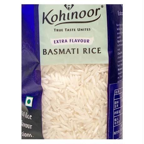 BASMATI RICE 1kg【KOHINOOR】 バスマティライス 1KG インド産【コヒノール】