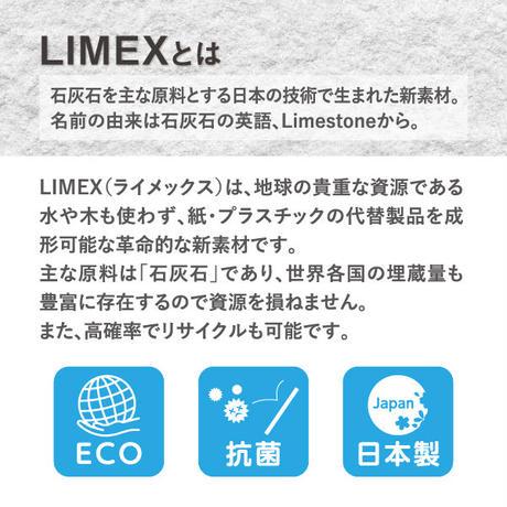 LIMEX抗菌マスクケース ホワイト(マスク1枚付き)