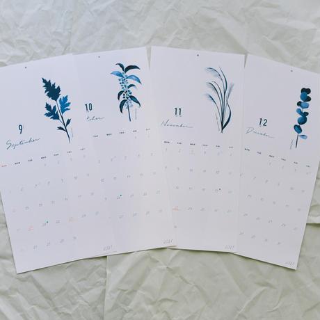 2021 草木カレンダー(祝日最新Ver.)