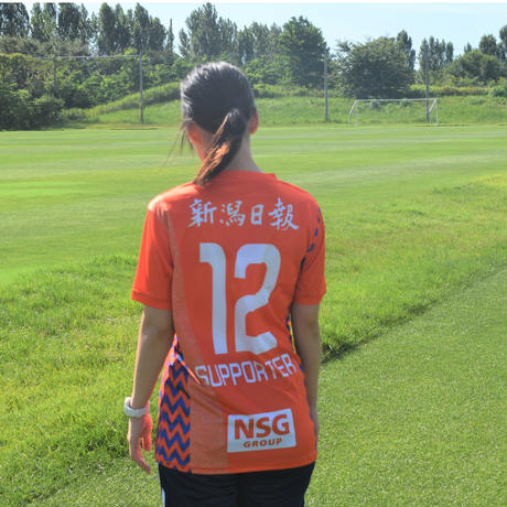 【レプリカ】2021フィールドプレーヤーユニフォーム(ホーム1st・オレンジ)