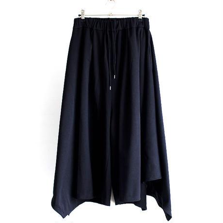 【AS SUPER SONIC】 ドレープスカート風ワイドパンツ