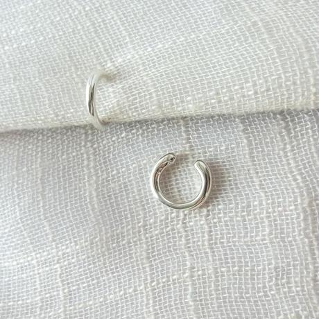 [Silver]ピアスみたいなイヤリング(プレーン)