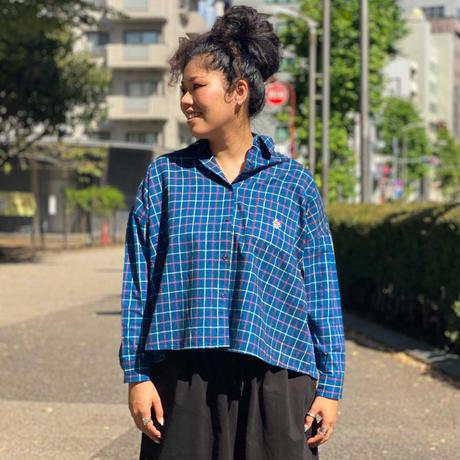 Tei Wide Shirt(Blue)