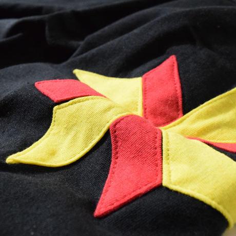 Windmill Half Sleeve T(Black)