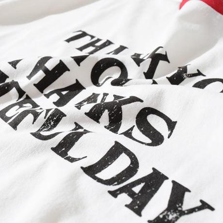 Thank You Half Sleeve T(White)※直営店限定色