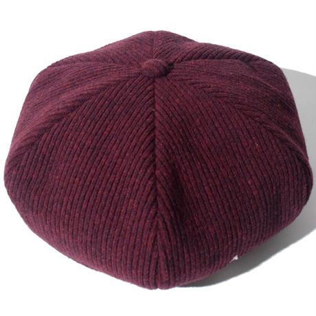 Knitting Beret(Burgundy)
