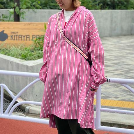 Stripe Gather OP(Pink)