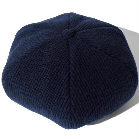 Knitting Beret(Navy)