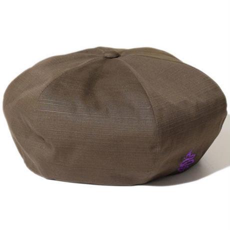 Shantung Beret(Brown)