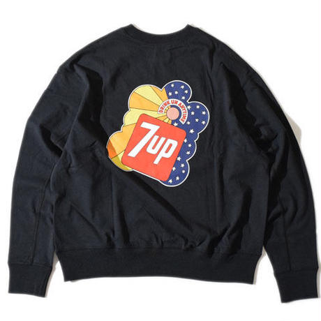 【7up×ALDIES】7up collaboration Wide Long T(Black)