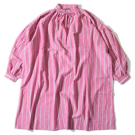 Stripe Gather OP(Pink)