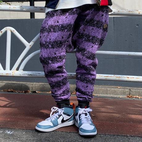 Skull Border Saluel Pants(Purple)