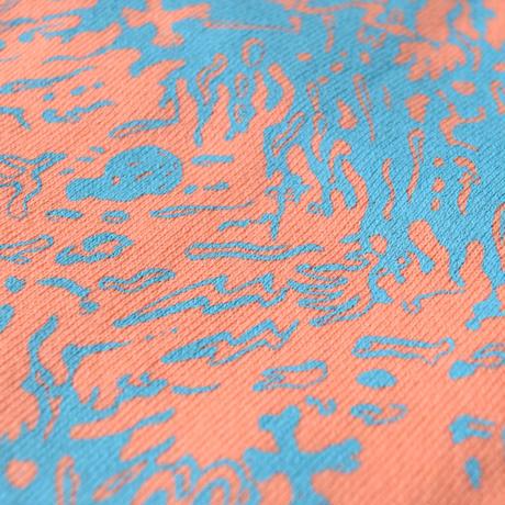 Skull Border Sweat(Orange)