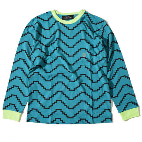Zig Long T(Bluegreen)