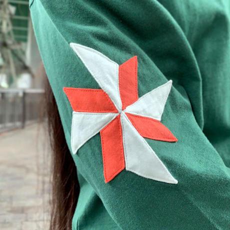 Windmill Half Sleeve T(Green)