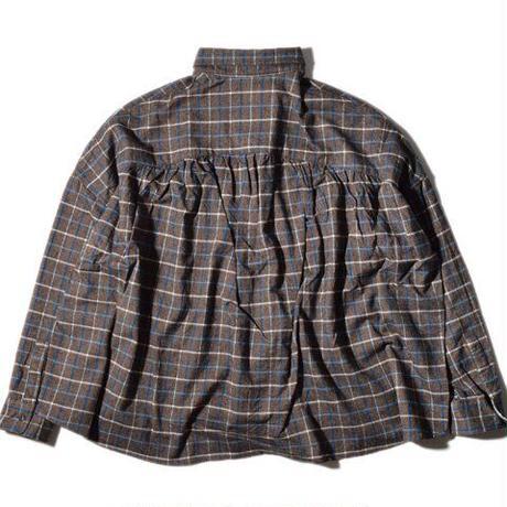 Tei Wide Shirt(Brown)