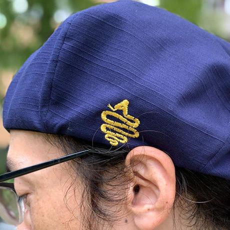 Shantung Beret(Navy)