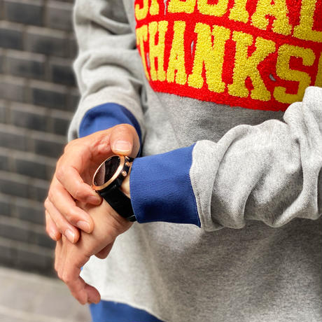 Special Thanks Funny Sweat(Gray)