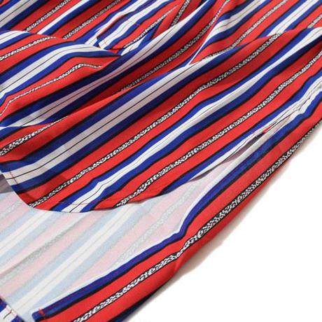 Stand Stripe Shirt(Red)