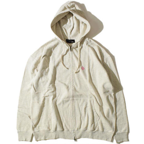 Ultra Large Zip Parka(Oatmeal)