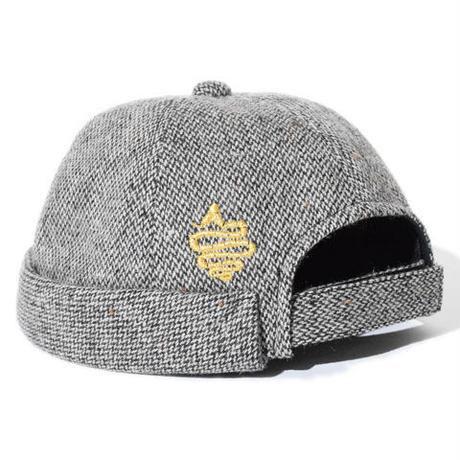Wool Roll Cap(Brown)