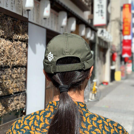Bobby Roll Cap(Olive)