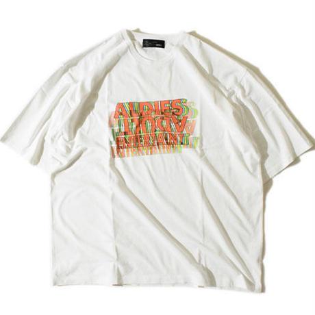 Adult 3D T(White)※直営店限定商品