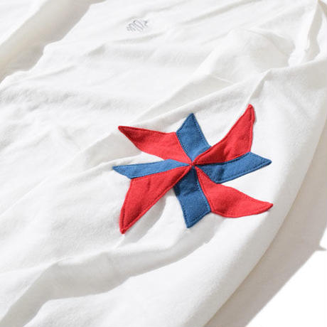 Windmill Half Sleeve T(White)