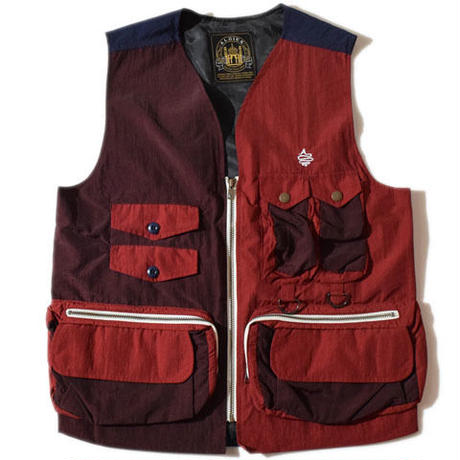 Everything Vest(Burgundy)