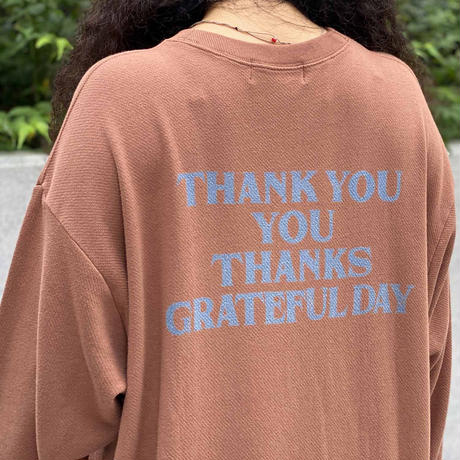 Thank You Long OP(Brown)
