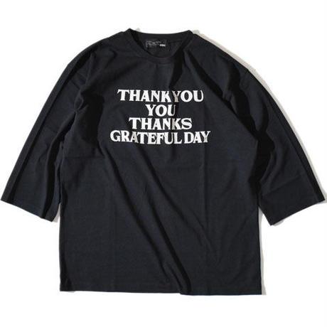 Thank You Half Sleeve T(Black)※直営店限定色