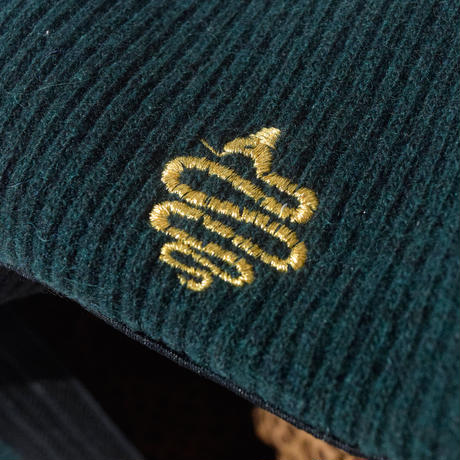 Knitting Beret(Green)