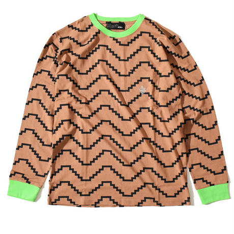 Zig Long T(Brown)