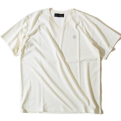 V-Neck Big T(White)