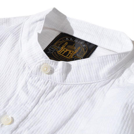 Standing Collar Shirts(White)