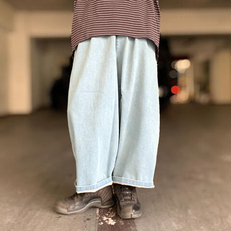 Denim Extensive Pants(Blue)