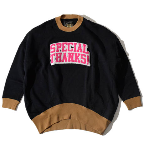 Special Thanks Funny Sweat(Black)