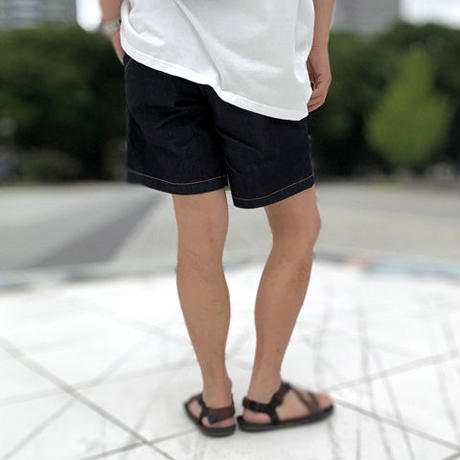 Back Double Short Pants(Navy)