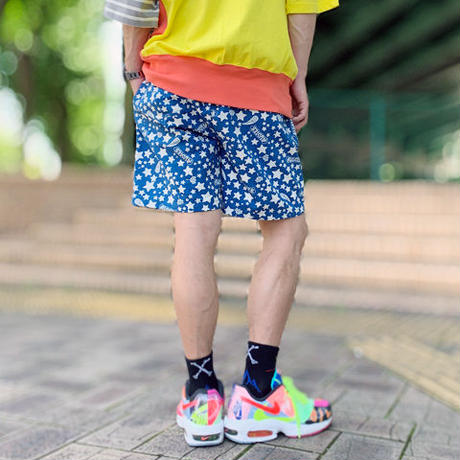 Memories Existence Shorts(Blue)
