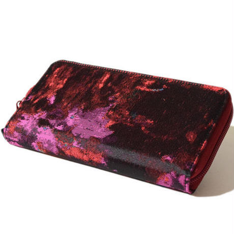 Louis Long Wallet(Red)