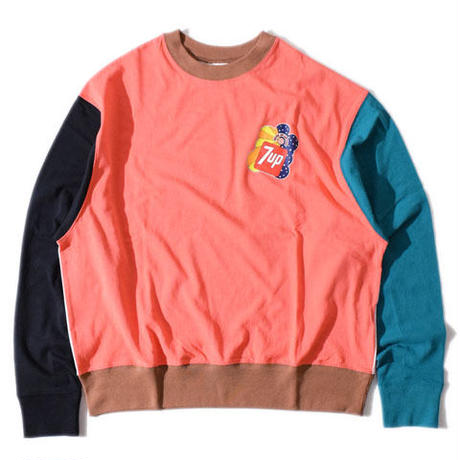 【7up×ALDIES】7up collaboration Wide Long T(Pink)