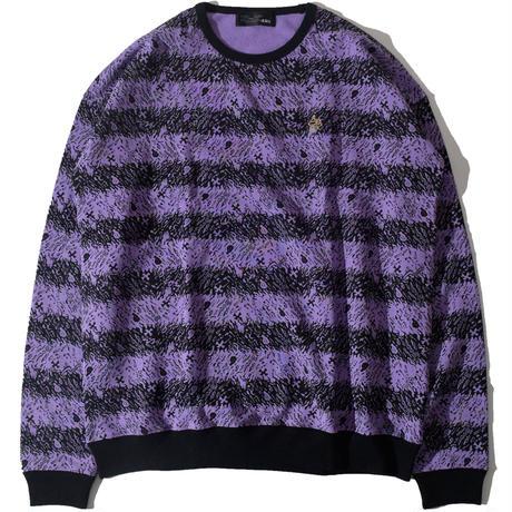 Skull Border Sweat(Purple)