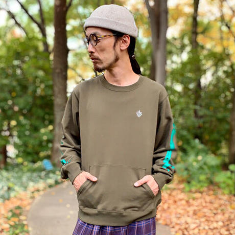 Luckey Wide Sweat(Olive)