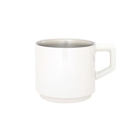 [真空マグカップ]410ml  ホワイト013-410-W